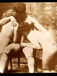 Some hardcore vintage retro hairy threesomes naked pictures