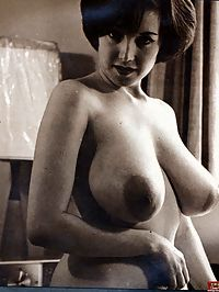 Several fifities ladies showing their big natural breasts