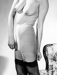 Beautiful vintage ladies showing their sexy naked bodies