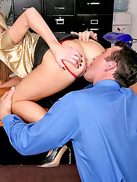 Beautiful big tit nikki gets pounded in the office in these afterhour pics and vid