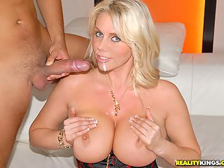 Amazing big tits babe karen fisher gets nailed by her realtor in these hot big tits banging pussy fucking pics