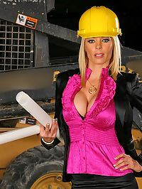 Smokin hot big tits contruction worker boss gets her hot pussy nailed hard in these hot cock sucking juicy pussy fucking pics