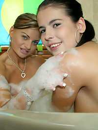 Hot italian and german girls love to fuck come watch these hotties take it up the ass in this orgy