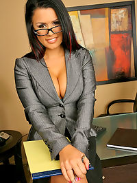 Beautiful hot ass big tits babe eva angelina gets fucked hard in the office after masterbating in these hot banging babe office fuck pics