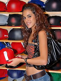 Super hot perky titty chayanne gets picked up at the mall while shopping for hats then gets her hot latina box fucked hard and face creamed by the manager in these hot latina fucking pics and big video