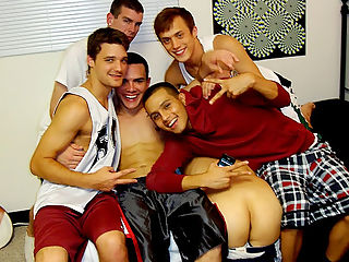 Check these horny gay dudes get nailed in these hot fucking dorm room college parties