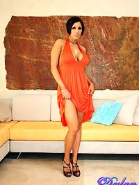 Gorgeous Dylan Ryder nude : Busty Dylan Ryder cannot seem to keep her dress on