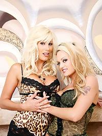 Puma Swede strap on scene : Puma Swede and Monica Mayhem have girl on girl fun