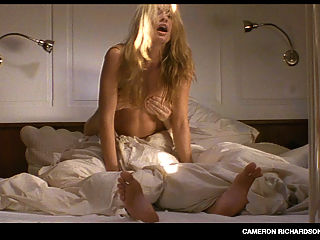 Cameron Richardson displays her perky tits and butt in a thong