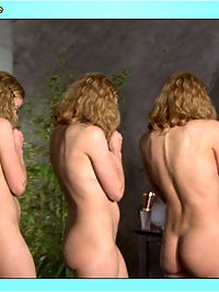 Elisabeth Shue flashes a sexy nip and exposes her creamy round ass