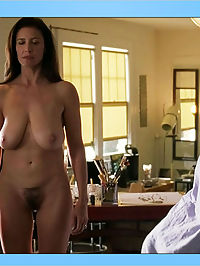 Mimi Rogers flaunts her bare ass, juicy jugs and sexy bush