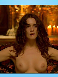 Paz Vega proudly reveals her amazing ass, perky tits and bare bush