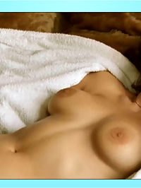 Marion Cotillard shows perfect tits and bush while in bed with her man