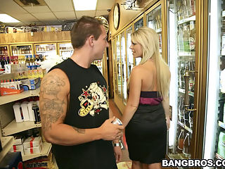 Luckily for Steve, Ahryan bumped into him at the store on her way to work, if he would have never grabbed the last energy drink he would have never scored her number.