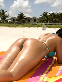 This hottie latina wanted to get right down to business and let the fucking begin. We had our way with her as well. We love big butts.