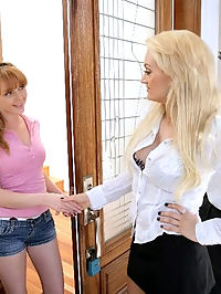 Check out when a milf is teaching her young friend how to have a great sex and give the best head ever.
