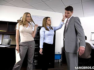 Julius is the boss, and he has a hot secretary that is willing to get fucked by him, she took copies of her nice ass and pussy
