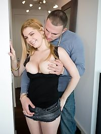 Victorias amazing natural tits and her sexy riding that no man can control