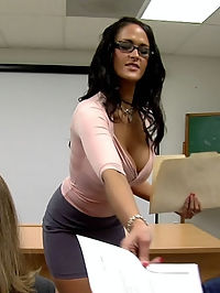 Are you prepared to take the anal exam with Ms. Carmella?