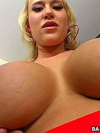 Carlys here to show us her perfect juicy tits!