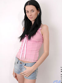 Check out cute shannon with her arms squeezing off her juicy tits