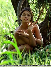 SOFI ACAMEUR by GONCHAROV : Sofi is a big breasted charming girl who loves to picking flowers or wondering around nude, or heck both.