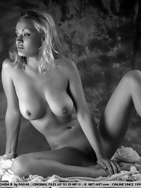 DARIA VELIUS by PASHA : Daria looks like a fine art painting in this one, with her large firm breasts and figurine body.