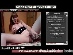 Secret Web Cam Whore : The adorable and innocent looking Marie McCray secretly starts doing erotic web cam shows from home to help pay for rent. Her boyfriend, Derrick Pierce, catches her in the act and decides to teach Marie a lesson by tying her up and punishing her with rough dominating sex.