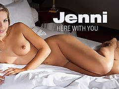 Here With You : Any time Jenni comes back to FEMJOY...and she does quite often...to make a video, its a time for major celebration. Her shining smile, sexy young body, and lithe spirited moves is pure naked wonder. And the members just love it.