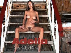 Secret Stairs : Ah, beautiful Adelia. Weve seen her in so many videos and photo sets, but never has she been so lovely, so captivating, and so explicit. Shes growing up, becoming a sensual woman, and shes happy to share it with all of us.