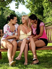 Carmen, Roxy and Ewe - Sizzling lesbian trio in hot orgy