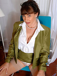 Anilos.com Alexandrasilk - Hot secretary masturbates with a powerful magic wand : Hot secretary masturbates with a powerful magic wand