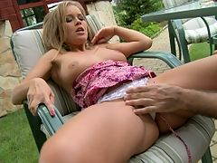 Very sexy Colette anal fucked by a horny biker guy