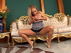 Sexy blonde Jessica is in hard assfucking scenes