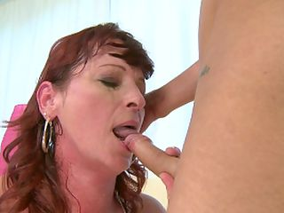 Horny mature Dalan is fucking with a younger boy