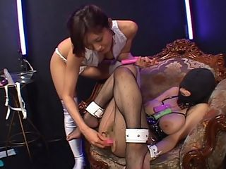 Tied and gagged asians.