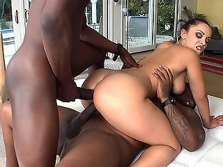 Porn black interracial