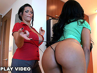 OMG! Tony Rubino is one lucky SOB! In this weeks Ass Parade update, he gets the honor of fucking the two finest asses on earth Angelina Castro and Lisa Lee.