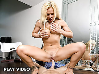 This week we have the sexy Tyler Faith with us to do a hot MILF scene for your viewing pleasure. Tyler came down the stairs walking all sexy, when she reached the mirror she began touching and playing