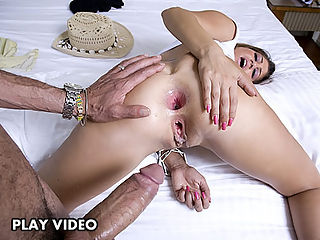 Sucking on a monster cock is what she does best. Come see what I mean about a trooper
