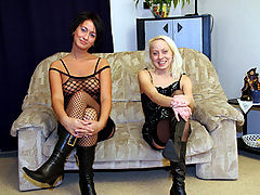Petra and Suzanna : Girls giving their ass away to get a big cock inside it