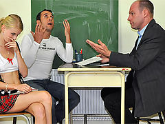 Katerina : Old horny school teacher shagging a hot teenage student