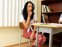Zdenka : Very old horny teacher fucking one of his sexy students