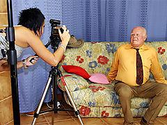 Mireck and Zuzana : Eighty year old man pounding a stunning teenage beauty wild