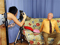 Mireck and Zuzana : Stunning beauty gets turned on by an eighty year old stud