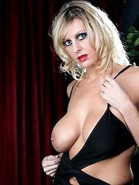 Blonde MILF Showing Off Her Big Rack