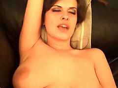 Hot wife fucked on the couch
