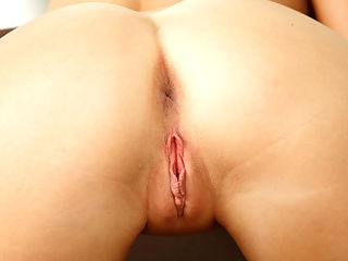 Petite blonde Kandence rides a hard cock after a long day of masturbation and fingering of her petite pussy.
