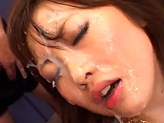 Dream Woman Vol. 69 : This is not the first hardcore bukkake movie Rio Hamasaki has been in but its sure is not the last. For those of you who knows Rio Hamasaki she has a nice pair of big tits and this JAV model is nasty as hell! She will take anything you throw at her so massive cum shot facials is just another walk in the park.