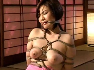Sexy Fruit : Here is a pain and humiliation movie complete Japanes bondage experience. This girl is completely wrapped with a rope and taken advantage of while she is immobilized. See her go through some sexual abuse and rough sex.